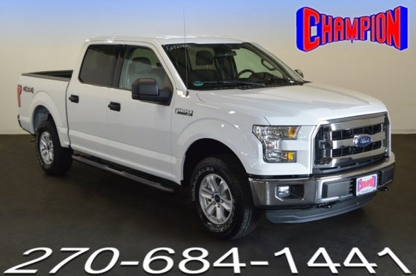 Champion Ford Owensboro Ky >> 2016 Ford F-150 XLT in Owensboro, KY | Owensboro Ford F ...